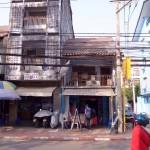 Hochhaus in Laos Hauptstadt