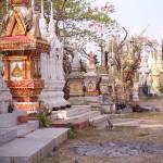 Laotischer Friedhof